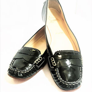 """Christian Louboutin Patent Leather """"Penny Girl"""" 39"""